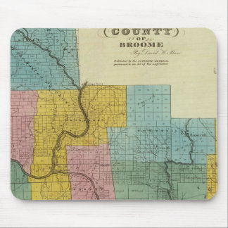 Broome County Mouse Pad