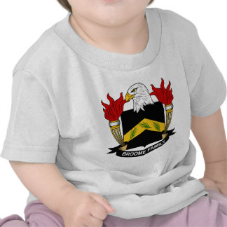 Broome Family Crest Tshirt