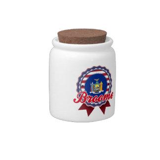 Broome, NY Candy Jars