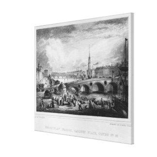 Broomielaw Bridge, Carlton Place Canvas Print