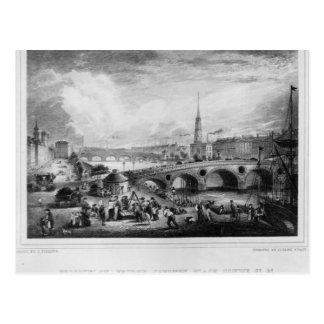 Broomielaw Bridge, Carlton Place Postcard