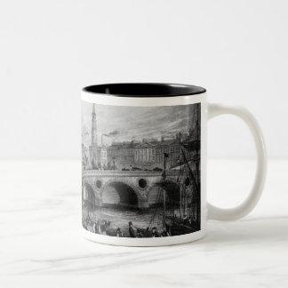 Broomielaw Bridge, Carlton Place Two-Tone Coffee Mug