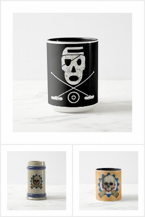 Broompunk - Curling Themed Mugs & Stuff Like That