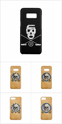 Broompunk - Curling Themed Phone Cases