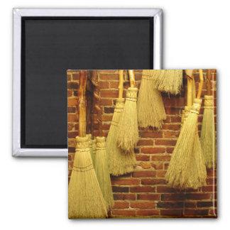 Brooms Fridge Magnet