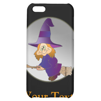 Broomstick Witch Case For iPhone 5C
