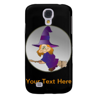 Broomstick Witch Galaxy S4 Cases
