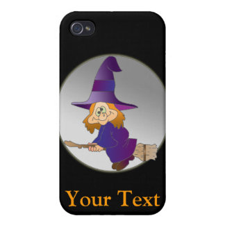 Broomstick Witch iPhone 4 Case