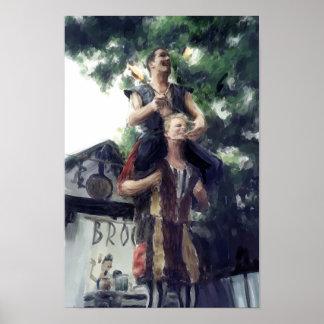 Broon & MooNiE Poster