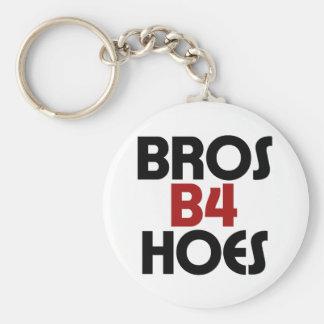 Bros B4 Hoes Key Chain