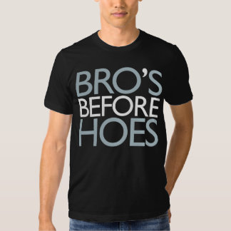 Bro's Before Hoes T-Shirt (Black)