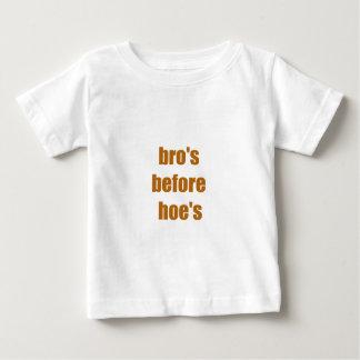 bro's before hoe's tee shirt