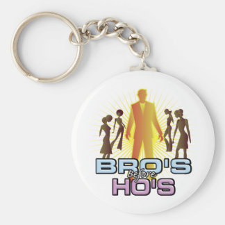 Bro's Before Ho's Key Chains
