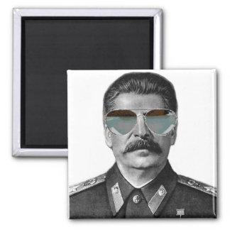 Broseph Stalin 2 Inch Square Magnet