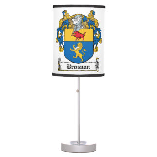 Brosnan Family Crest Lamps