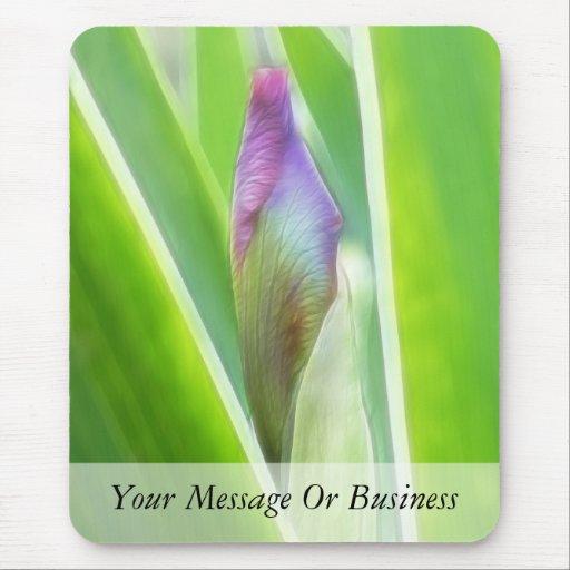 Brote a florecer - iris alfombrillas de raton