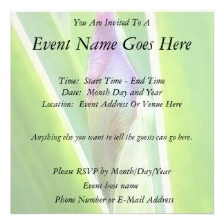 Brote a florecer - iris invitaciones personales
