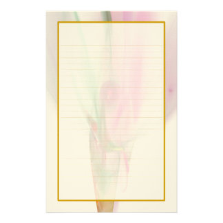 Brote color de rosa en efectos de escritorio papeleria personalizada