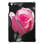 Brote color de rosa rosado BW iPad Mini Cárcasa
