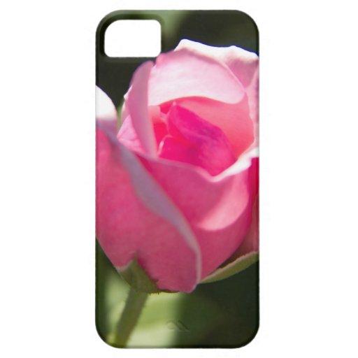Brote color de rosa rosado iPhone 5 Case-Mate cobertura