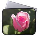 Brote color de rosa rosado manga portátil