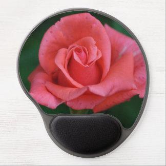 Brote color de rosa rosado maravilloso alfombrilla gel