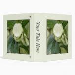 Brote de flor del Hellebore blanco