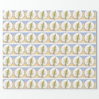 Brote del musgo papel de regalo