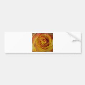 brote del rosa amarillo pegatina para auto