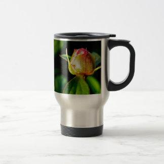 Brote floreciente taza de viaje