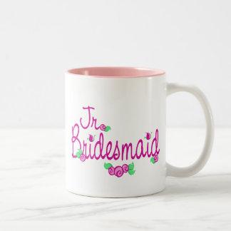 Brotes/boda del amor tazas de café