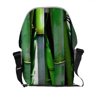 Brotes de bambú bolsas de mensajeria