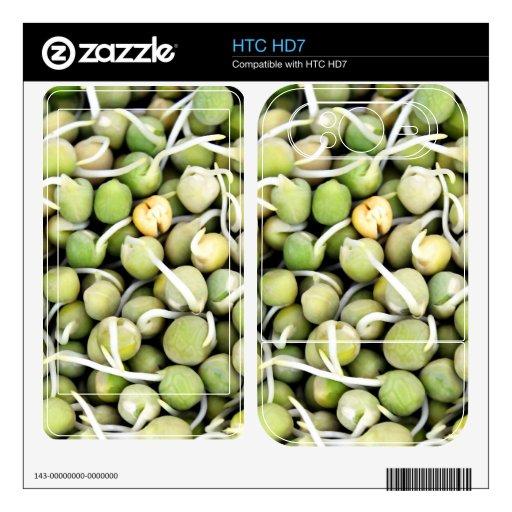Brotes de los guisantes HTC HD7 skins