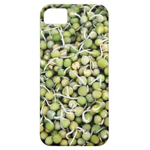 Brotes de los guisantes iPhone 5 fundas
