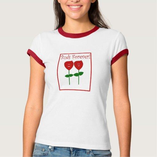 ¡Brotes para siempre! Camiseta del campanero de Playera