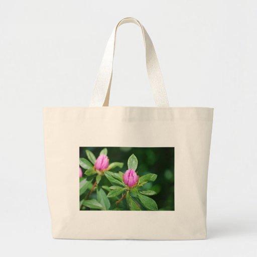 brotes rosados bolsa de mano