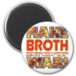 Broth Make X 6 Cm Round Magnet