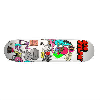 Brotha from anotha mutha custom skate board