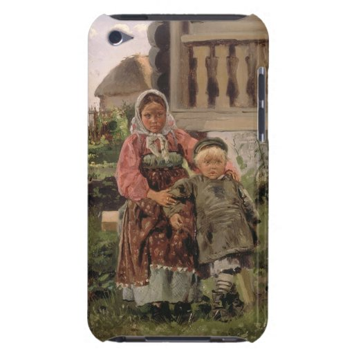 Brother and Sister, 1880 Case-Mate iPod Touch Case