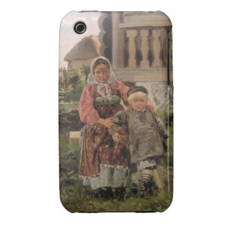 Brother and Sister, 1880 Case-Mate iPhone 3 Case