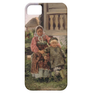 Brother and Sister, 1880 iPhone SE/5/5s Case