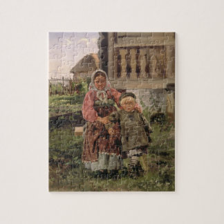Brother and Sister, 1880 Jigsaw Puzzle