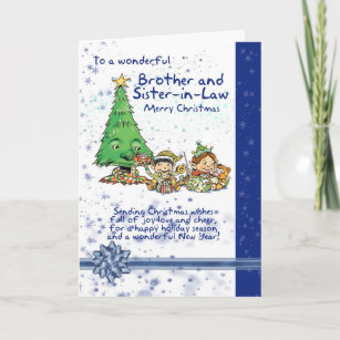 Christmas gifts for brother and sister-in-law