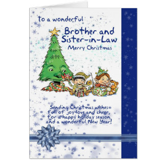 Brother And Sister In Law Greeting Cards Zazzle