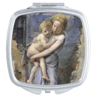 Brother and Sister Compact Mirrors