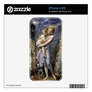 Brother and Sister Decal For iPhone 4