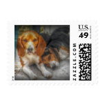 Brother Beagles Stamp