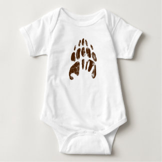 Brother Bear Footprint Handprint Disney Baby Bodysuit