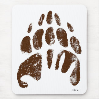 Brother Bear Footprint Handprint Disney Mouse Pad