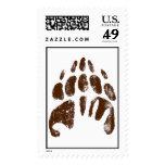 Brother Bear Footprint Handprint Disney Postage Stamp
